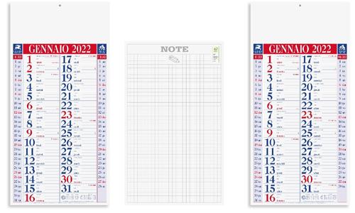 Calendario olandese SHADED personalizzabile