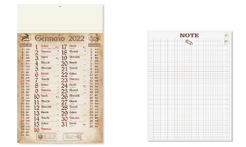 Calendario olandese ANTICATO promozionale