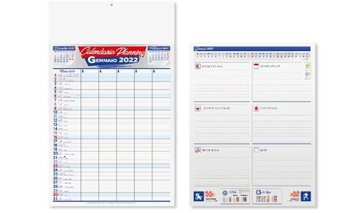 Calendario olandese MEMO personalizzabile