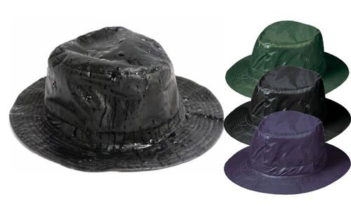 Cappelli da pioggia nero personalizzate