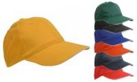 Cappellino in tessuto misto