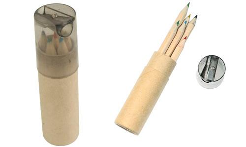 Set 6 matite con tempera matite promozionali
