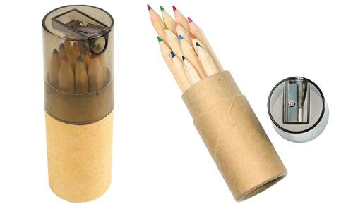 Set 12 matite con tempera matite personalizzate