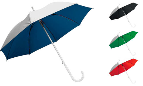 Ombrello alluminio  Bicolore promozionale