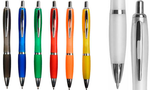 Penna a scatto in plastica personalizzabile