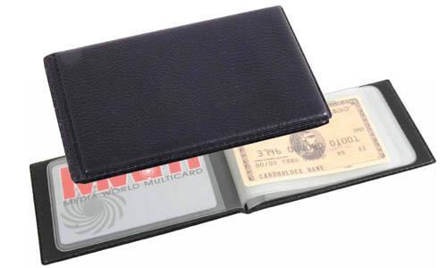 Porta carte di credito 10 finta pelle