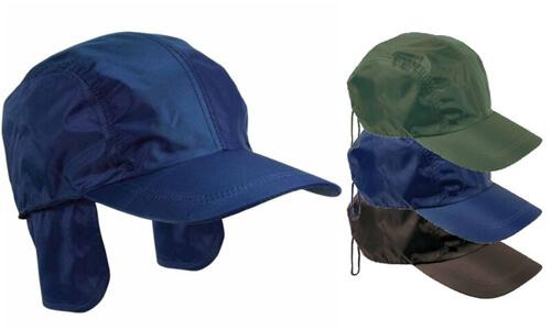 Cappellino  nylon/pile con paraorecchie