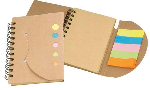Block notes con foglietti personalizzate