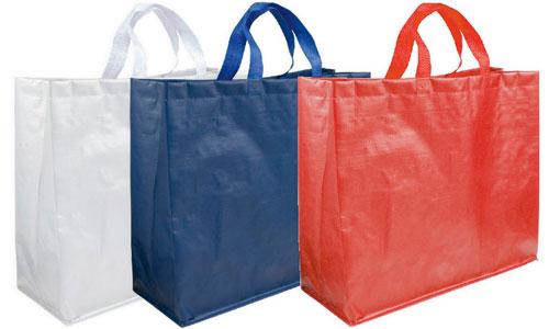Shopper in Polipropilene laminato opaco tre colori disponibili