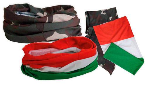 Fascia tricolore - militare Stampa il tuo logo