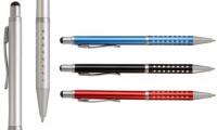 Penna a scatto in alluminio
