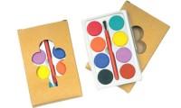 Set acquarelli colorati