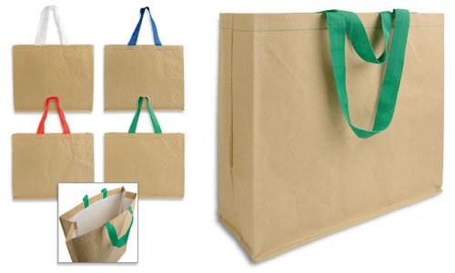 Shopper carta interno impermeabile in polipropilene