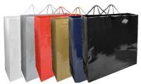Shopper in carta laminata 45x15x49 cm