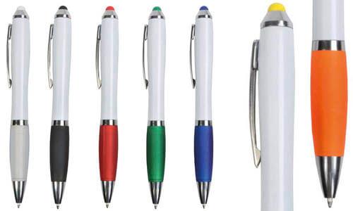 Penna touch gommino colorato Promozionali