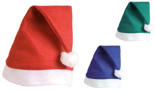 Cappello Babbo Natale in feltro personalizzabili