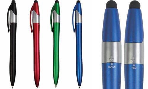 Penna con 3 refill Stampa la tua Pubblicità