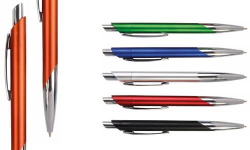 Penna a scatto in plastica personalizzabili