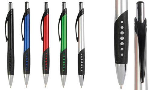 Penne con fusto metallizzato Promozionali
