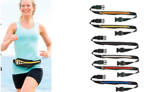 Marsupio elastico per runner con tasca
