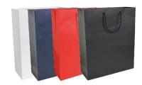 Shopper carta laminata opaca 22x29x10 cm