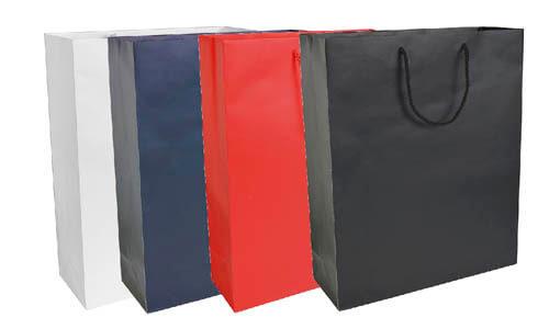 Shopper carta opaca stampa serigrafica su due lati