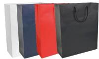 Shopper carta laminata opaca 26x35x11 cm