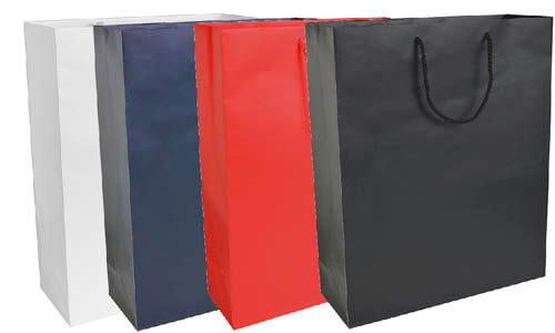 Shopper carta lam.26x35x11cm opaco