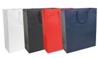Shopper carta laminata opaca 34x41x12 cm