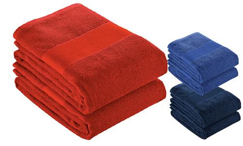 Asciugamano 50x100 spugna cotone personalizzate