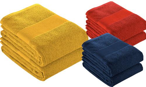 Asciugamano spugna cotone personalizzate
