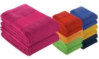 Asciugamano 90x150 cotone banda opaca