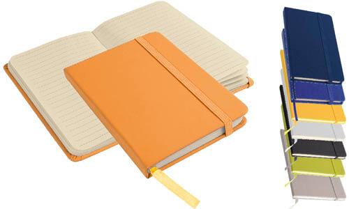 Quaderno a righe con elastico personalizzabile con il vostro logo