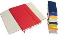 Quaderno a righe con elastico 15 x 21