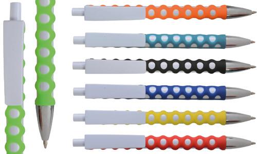 Penna a scatto in plastica con fusto personalizzabile