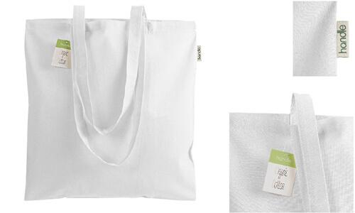 Shopper in cotone organico 140 g/m2 personalizzate