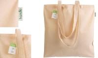 Shopper ecru cotone organico