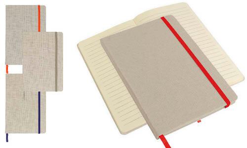 Quaderno a righe 9 x 15 cm personalizzato con il tuo logo