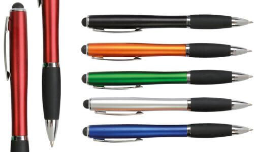 Penna touch  con led logo Stampa la tua Pubblicità
