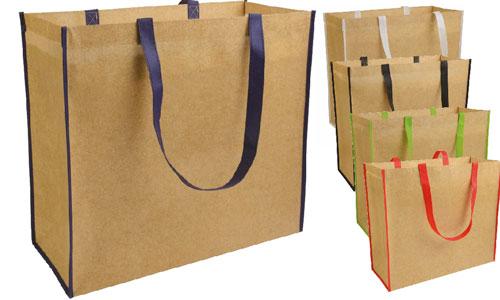 Shopper tnt laminato effetto carta