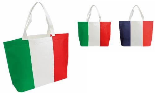 Borsa shopper TNT Tricolore
