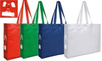 Shopper Eco TNT in rpet laminata