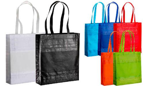 Shopper TNT con effetto graffio