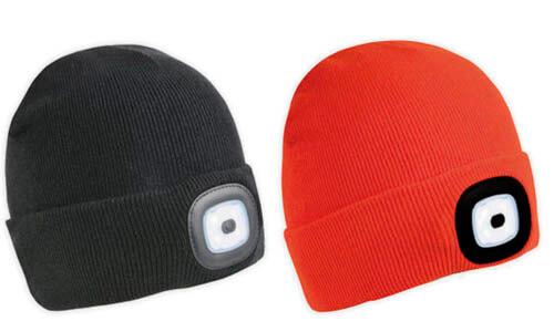 Cappellino con luce stampabile con il vostro logo