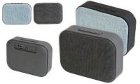 Speaker bluetooth tessuto