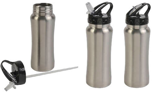 Bottiglia in acciaio 600ml - articolo esaurito stampabili con il vostro logo