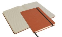 Quaderno con elastico carta avorio 14.5 x 21