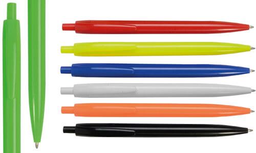 Penna in plastica fluo Stampa la tua Pubblicità aziendale