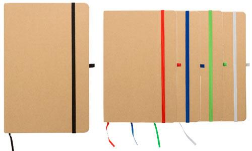 Quaderni in carta riciclata 21 x 14 personalizzabili