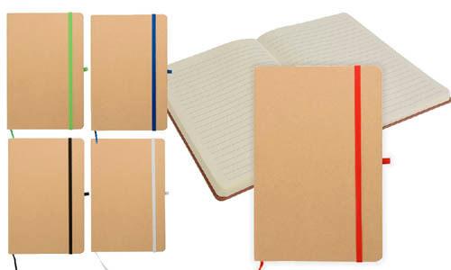 Quaderno in carta riciclata 9 x 14 personalizzabili